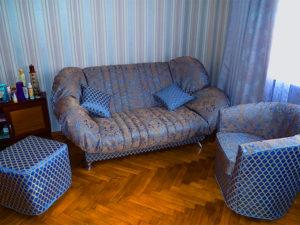 Чехлы для диванов клик-кляк, книжка, аккордеон