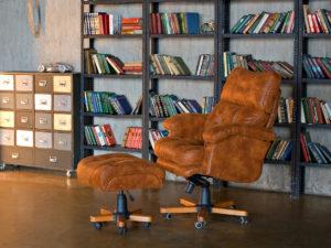 Кресла и пуфы ручной работы